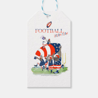 USA team work, tony fernandes Gift Tags
