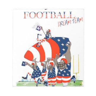 USA team work, tony fernandes Notepad
