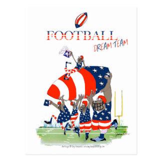 USA team work, tony fernandes Postcard