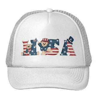 USA Teddy Bears Hat
