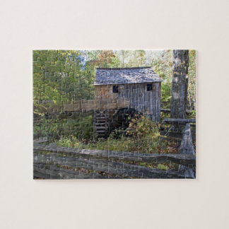 USA - Tennessee. Cable mill in Cades Cove area Jigsaw Puzzle