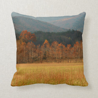 USA, Tennessee. Cades Cove In Smoky Mountain Throw Cushions