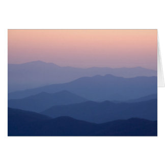 USA, Tennessee, Great Smoky Mountains National Greeting Card
