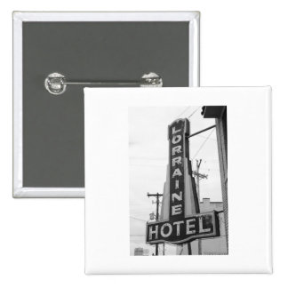 USA, Tennessee, Memphis: National Civil Rights 15 Cm Square Badge
