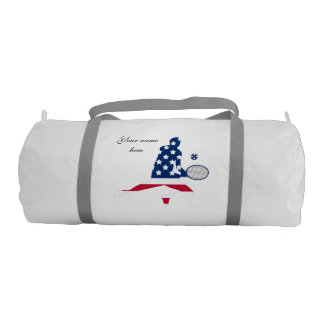 USA Tennis American player Gym Duffel Bag