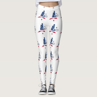 USA Tennis American player Leggings