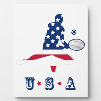 USA Tennis American player Plaque