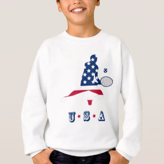 USA Tennis American player Sweatshirt