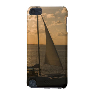 USA, Texas, South Padre Island. Sailboat iPod Touch (5th Generation) Cover