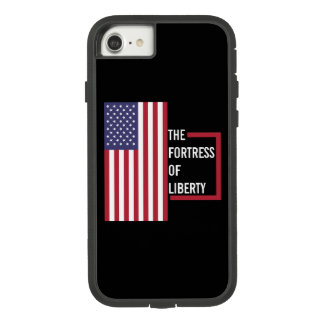 USA - The Fortress of Liberty iPhone 7 Case. Case-Mate Tough Extreme iPhone 7 Case