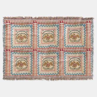 USA Throw Vintage Blanket