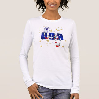 USA training motivational gifts and gear Long Sleeve T-Shirt