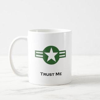 USA Trust Me Green Mug