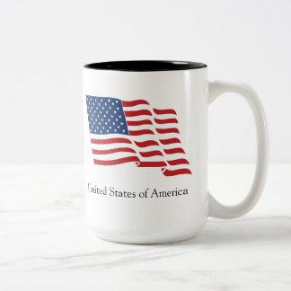 USA! Two-Tone MUG