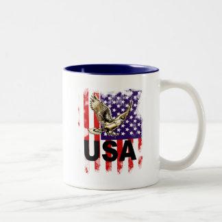 USA Two-Tone MUG