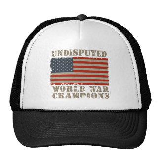 USA, Undisputed World War Champions Hat