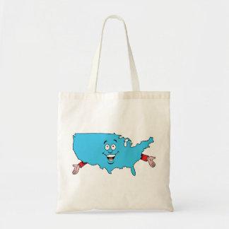 USA United States America Vintage Travel Souvenir Bags