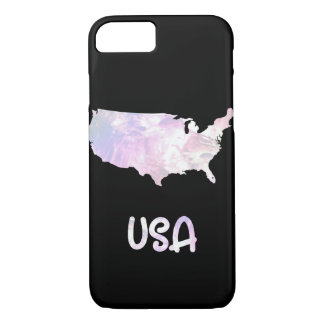 USA United States Iridescent Opalescent Pearly iPhone 8/7 Case
