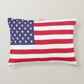 USA United States Stars And Bars Flag Decorative Cushion