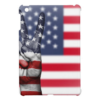Usa United States Us America Peace Hand Nation iPad Mini Case