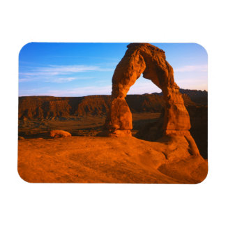 USA, Utah, Arches National Park, Delicate Arch Rectangular Photo Magnet