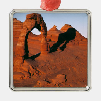 USA, Utah, Arches NP. Delicate Arch is one of Metal Ornament