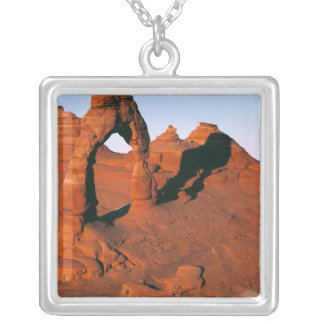 USA, Utah, Arches NP. Delicate Arch is one of Square Pendant Necklace