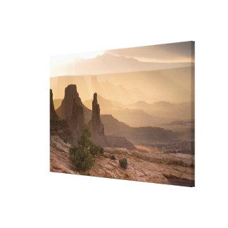 USA; Utah; Canyonlands National Park. View of Canvas Prints