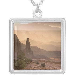 USA; Utah; Canyonlands National Park. View of Custom Necklace