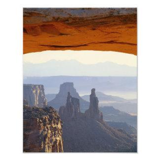 USA, Utah, Canyonlands National Park, View of Photo Print