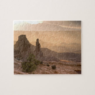USA; Utah; Canyonlands National Park. View of Jigsaw Puzzle