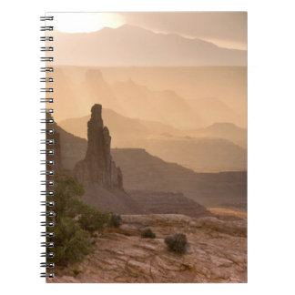 USA; Utah; Canyonlands National Park. View of Spiral Notebooks