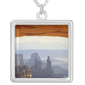USA, Utah, Canyonlands National Park, View of Square Pendant Necklace
