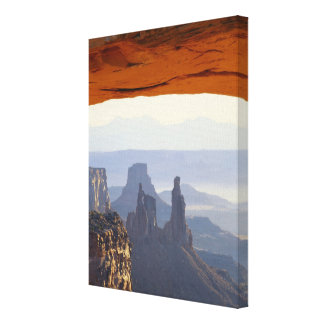 USA, Utah, Canyonlands National Park, View of Stretched Canvas Print