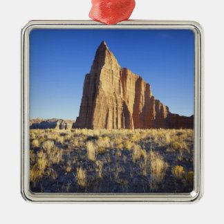 USA, Utah, Colorado Plateau, Lower Cathedral Silver-Colored Square Decoration