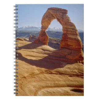 USA, Utah, Delicate Arch Spiral Notebook