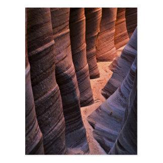 USA, Utah, Escalante. Repeating sandstone Postcard