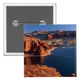 USA, Utah, Glen Canyon National Recreation Area 2 15 Cm Square Badge