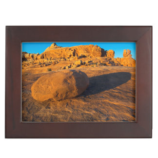 USA, Utah, Moab, Sandstone Keepsake Box