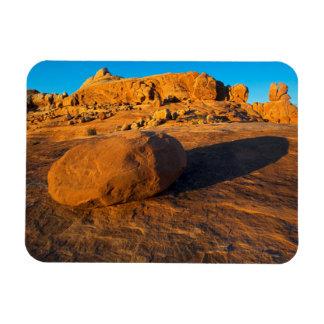 USA, Utah, Moab, Sandstone Rectangular Photo Magnet