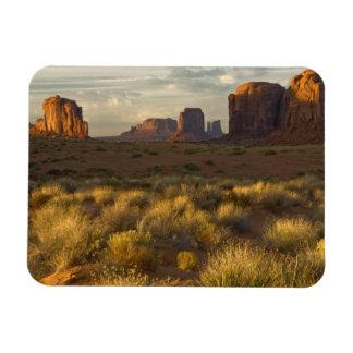 USA, Utah, Monument Valley National Park. Rectangular Photo Magnet
