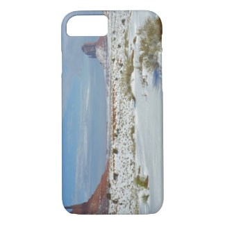USA, Utah, Monument Valley. Sagebrush shows iPhone 7 Case