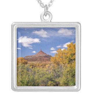 USA, Utah, near Canyonlands National Park on Square Pendant Necklace