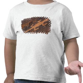 USA, Utah. Prehistoric petroglyph rock art at T-shirts