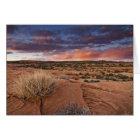 USA, Utah. Sunset on Poison Spider Mesa near Card