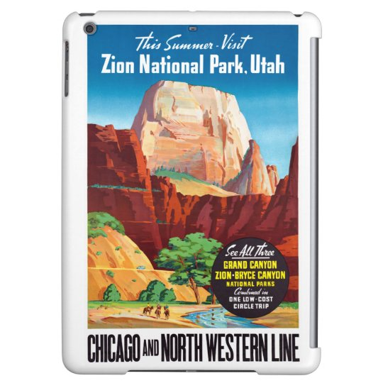 USA Utah Vintage Travel Poster Restored