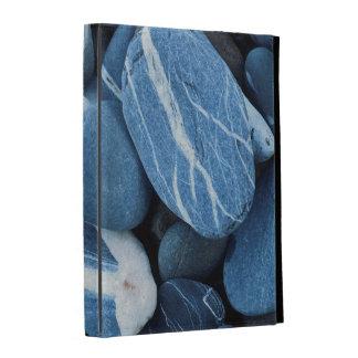USA, Vermont, Lake Champlain, Stones iPad Folio Cases