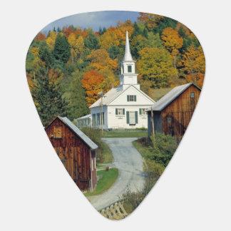 USA, Vermont, Waits River. Fall foliage adds Plectrum