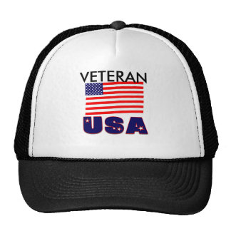 USA Veteran Apparel & Merchandise Trucker Hats
