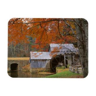 USA, Virginia, Blue Ridge Parkway, Autumn Rectangular Photo Magnet
